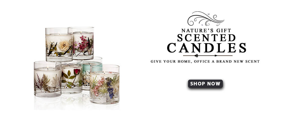 Nature's Gift Scented Candles