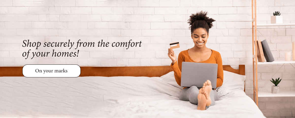 Shop Securely Online From The Comfort of Your Homes